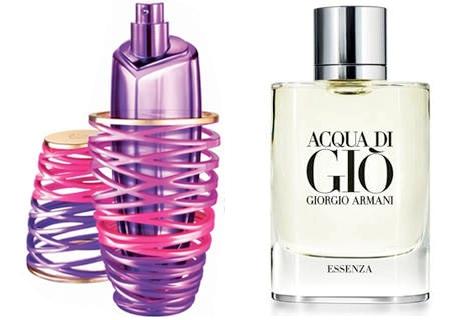 Girlfriend Justin Bieber (Elizabeth Arden) и Acqua di Gio Essenza Giorgio Armani