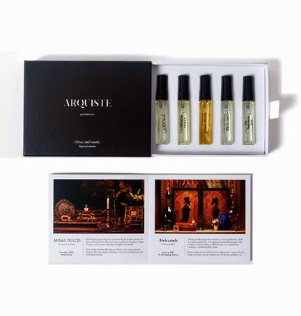 Мини-ароматы Arquiste