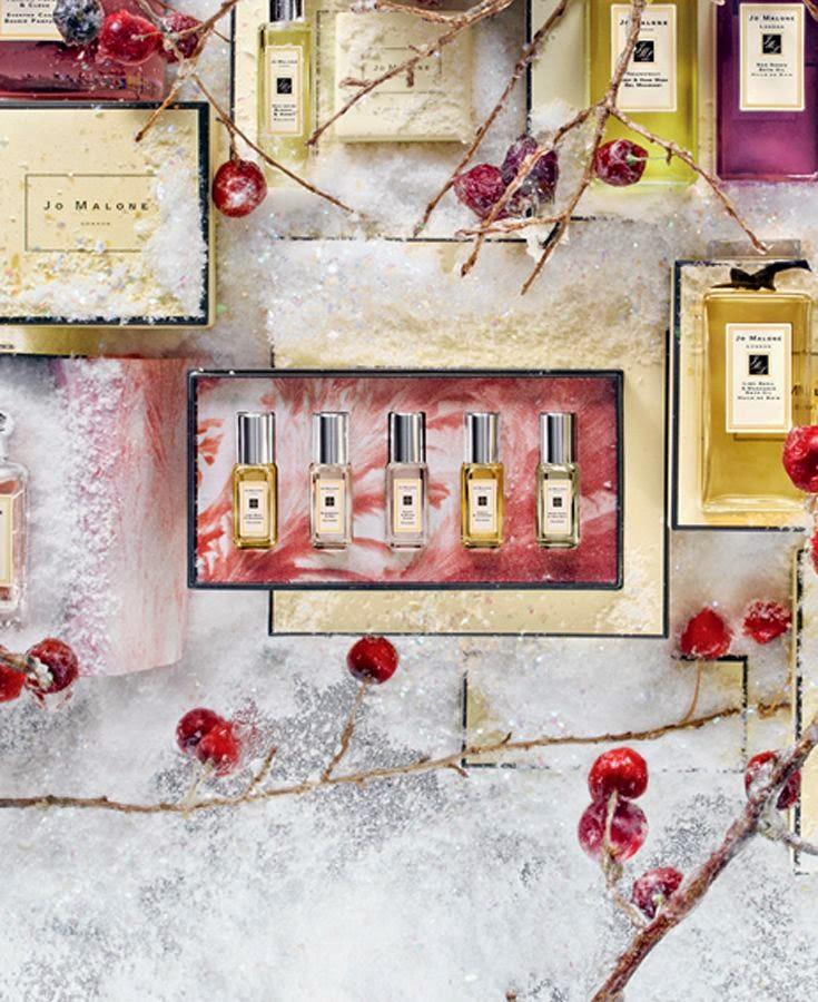 Набор миниатюр ароматов от британского бренда Jo Malone