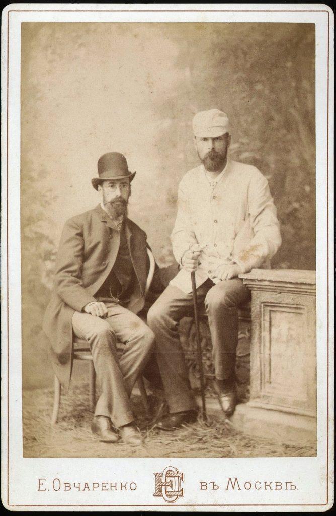Золотницкий Н.Ф. и Мещерский А.С. 1891 год.