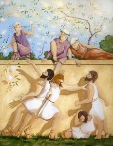 Путешествие Одиссея в страну лотофагов
