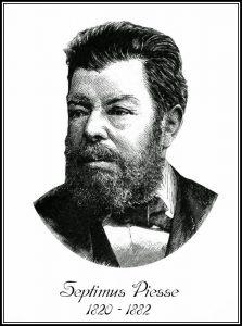 Автор книги Histoire des parfums Septimus Piesse