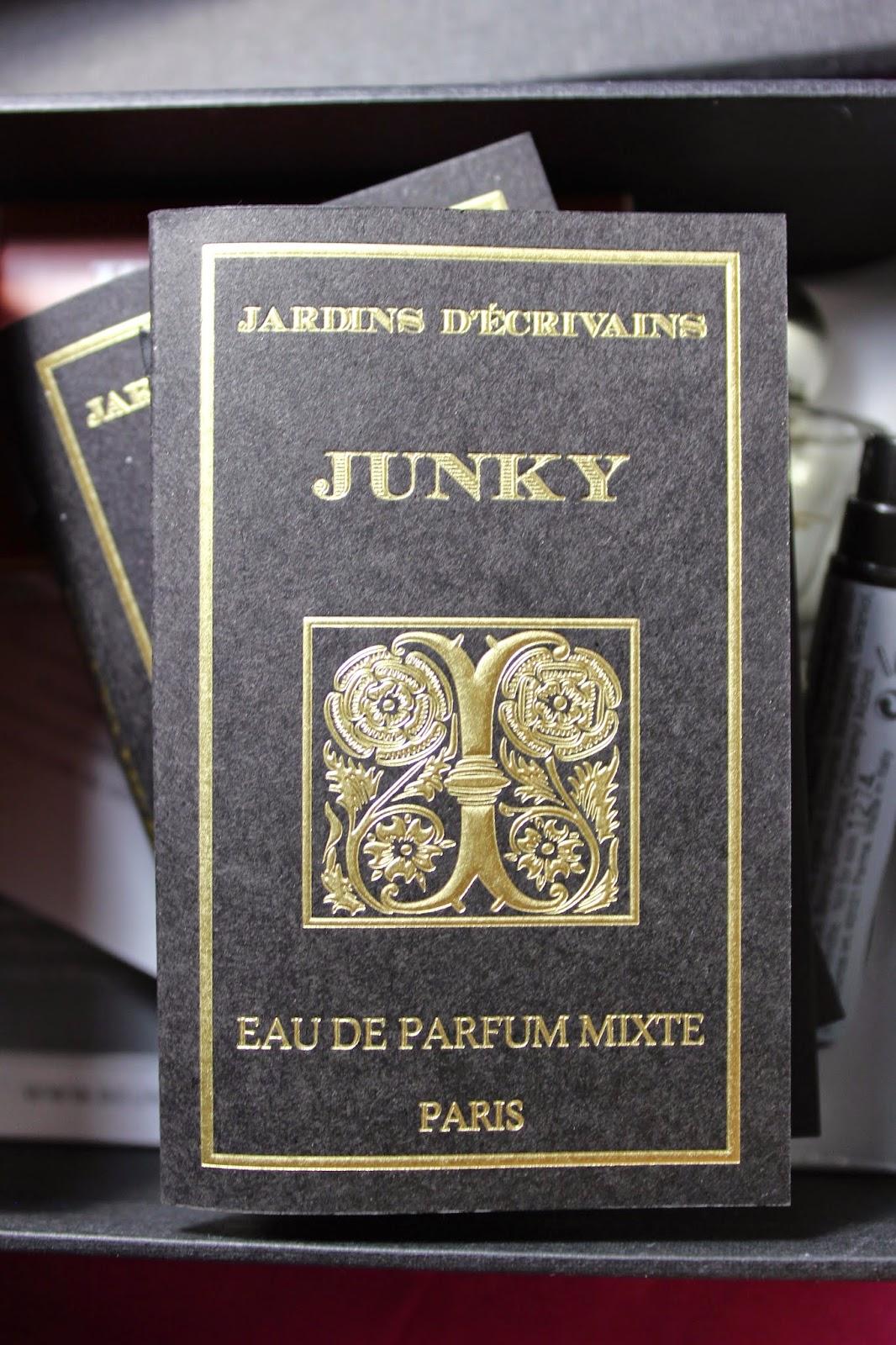 Пробник аромата Junky Jardin d'Ecrivains