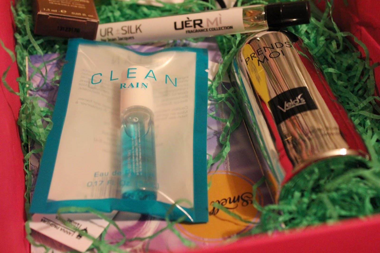 Наполнение парфюмерной коробочки SMELL ME от Beauty Drugs