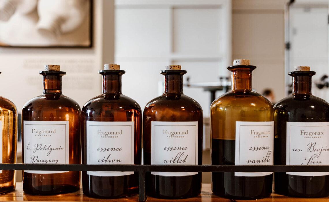 Fragonard bottles