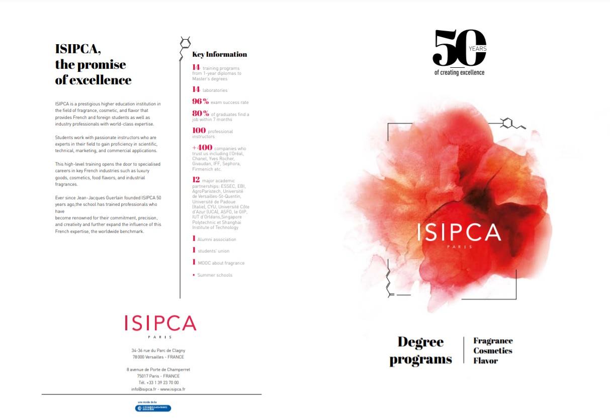 Французская школа парфюмерии и косметики ISIPCA